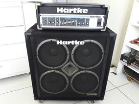 Sistema Hartike Cabeçote Ha5500 Com Case E Caixa Vx410 Top!