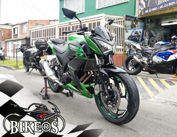 Kawasaki Z250 2018 Excelente Estado, Recibo Tu Moto @bikers