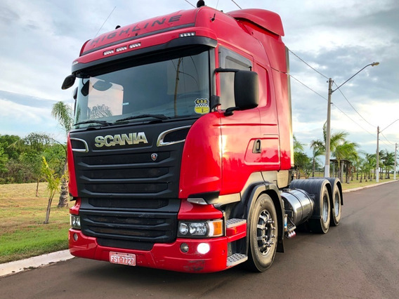 Scania R440 Highline 6x2 Opticruise Ar Cond 2014 Unico Dono