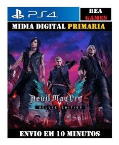 Devil May Cry 5 Edição Deluxe Ps4 - Original 1 - Vitalicia
