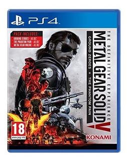 Metal Gear Solid V: La Experiencia Definitiva - Playstation