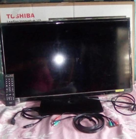Television Hd Led Toshiba Pantalla Plana De 32 Pulgadas