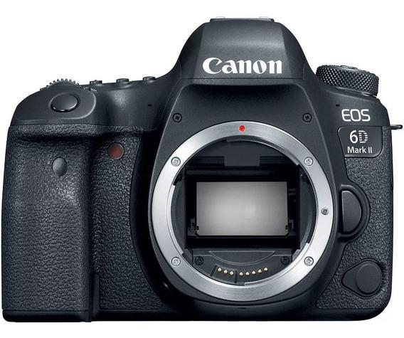 Câmera Canon Eos 6d Mark Ii 2 Wifi Nota Fiscal Nf-e