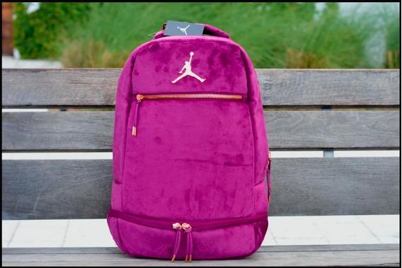 Jordan Backpack Skyline Velour Bordeux Pack Vino Unisex Porta Lap 17 Tenis 9a0046 Mochila