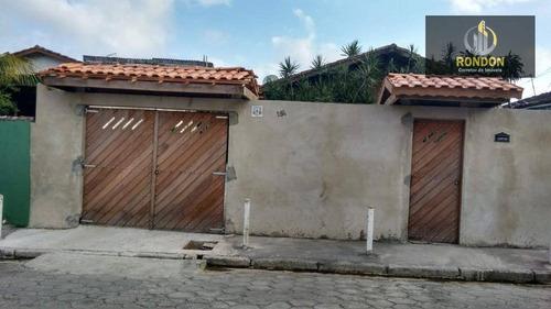 Casa Com 2 Dormitórios À Venda Por R$ 320.000 - Jardim Belas Artes - Itanhaém/sp - Ca1182