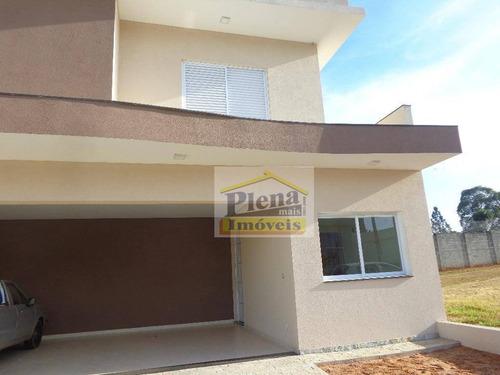 Sobrado Com 3 Dormitórios À Venda, 208 M² Por R$ 905.000,00 - Residencial Portal Do Lago - Sumaré/sp - So0759
