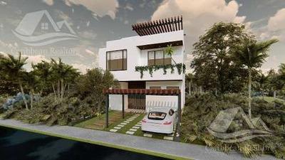 Casa En Venta En Playa Del Carmen/ Riviera Maya /ciudad Mayakoba