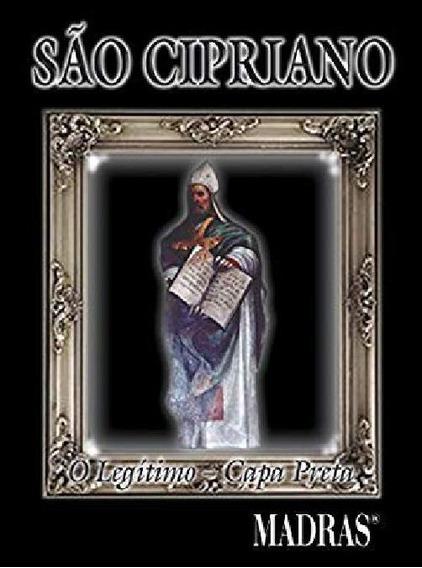 Livro Sao Cipriano - Capa Preta (ediçao De Bolso)