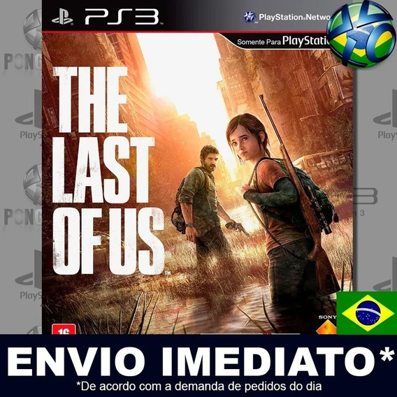 Jogo Ps3 The Last Of Us Dublado Pt Br Original