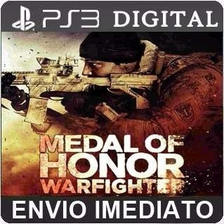 Medal Of Honor Warfighter - Ps3 Psn - Midia Digital