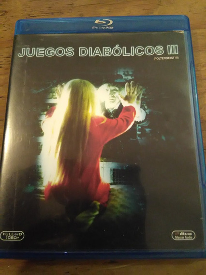 Juegos Díabolicos 3 ( Poltergeist Iii ) Bluray