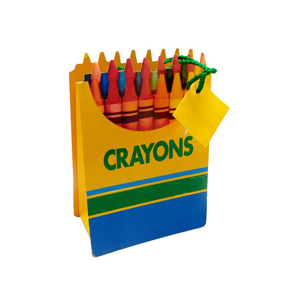 Bolsas De Regalo Set 12 Crayons Dcs-776 Good And Good