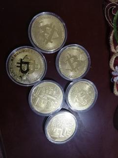 Moneda Bitcoin Fisicas