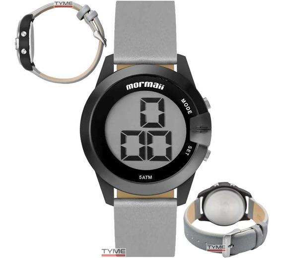Relógio Mormaii Feminino Digital Maui Mo13001c/8p + Nf-e