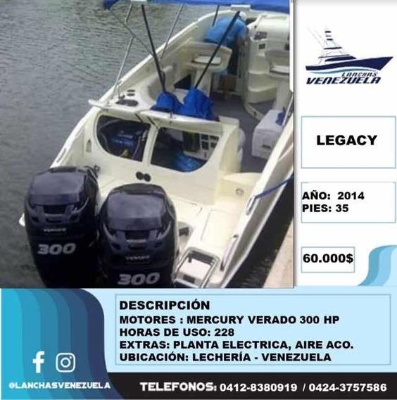 Lancha Legacy 35 Lv60