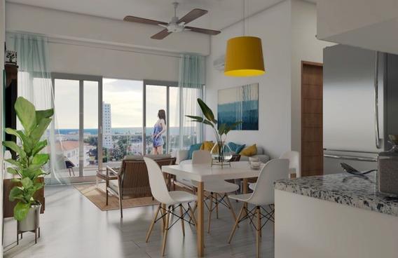 Apartamentos En La Playa, Reserva Us$1,000, Torres Moderna