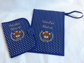 Capa De Caderneta E Porta Certidão