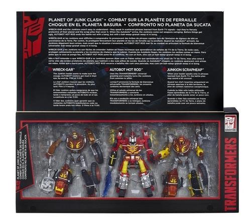 Transformers Platinum Hot Rod Junkion Scrapheap Wreck Gar