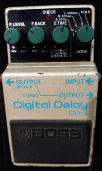 Pedal Boss Digital Delay Dd - 2