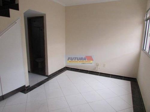 Imagem 1 de 21 de Sobrado À Venda, 66 M² Por R$ 270.000,00 - Vila Voturua - São Vicente/sp - So0335