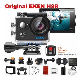 Câmera Eken H9 4k C/ Case Prova Dágua Frete Grátis Campinas