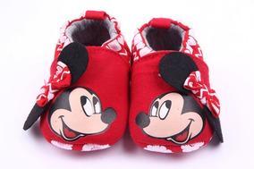 Sapatinho Do Bebe Mickey,minnie,homem Aranha