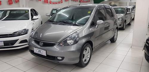Imagem 1 de 13 de Honda Fit 1.4 Lxl Aut. Cinza 2005 Gasolina