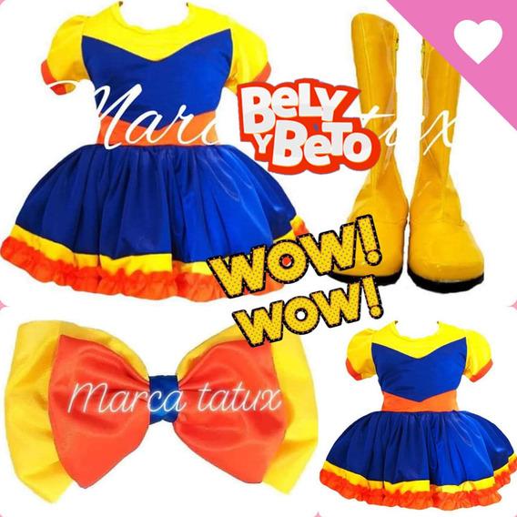 Bely Y Beto Vestido Original Con Botas