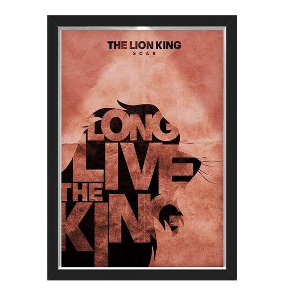 Quadro Caixa Lion King 03