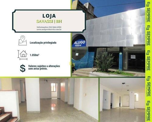 Imagem 1 de 18 de Loja Para Alugar, 1.050 M² E 02 Vagas - Savassi - Belo Horizonte/mg - Lo0062