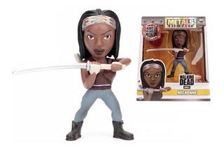 The Walking Dead Figura Muñeco Metal Die Cast Michonne 10 Cm