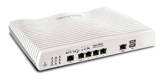 Modem Router Adsl2+ Draytek 2 Wan Vigor 2862 Giga Vpn Qos