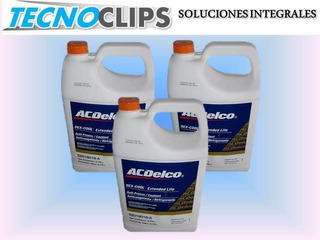 Refrigerante Acdelco 50/50 Nacional Color Naranja 3.78 Lts.