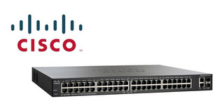 Switch Cisco Slm248pt Admin. L2 48 Puertos Con 24 Poe 180w