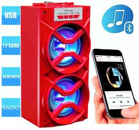 Caixa Som Mp3 Mp4 Bluetooth Celular Smartphone Lg Nokia iPad