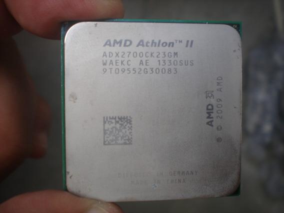 Processador Amd Athlon Ii 64 X2 270 3,4 Ghz Am3 100%
