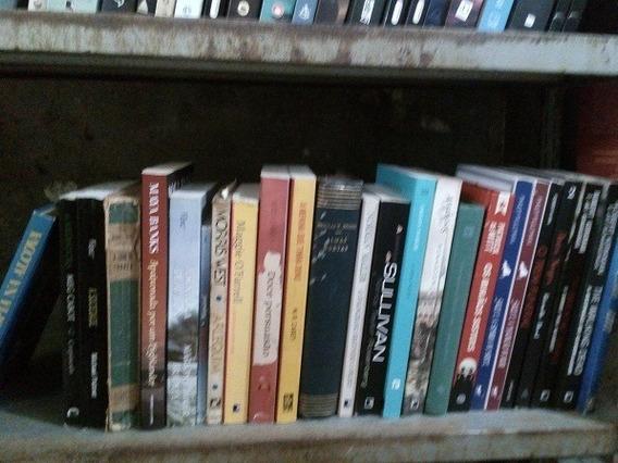 Excelente Lote Com 120 Livros De Literatura Estrangeira