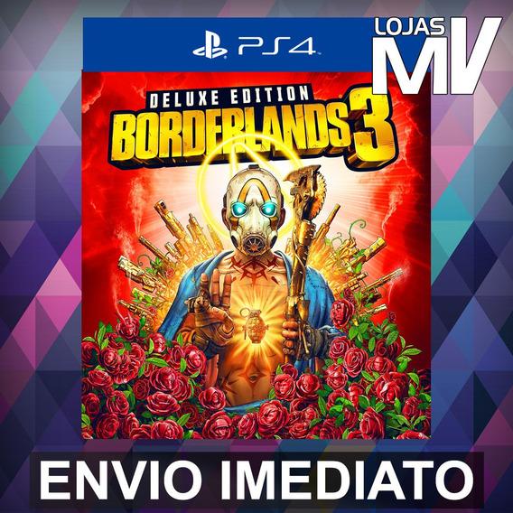 Borderlands 3 Deluxe - Ps4 Código 12 Dígitos Playstation 4
