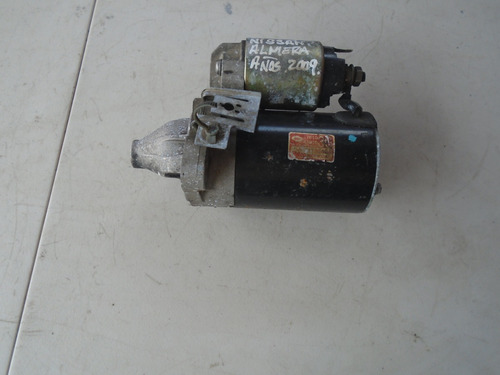 Vendo Motor De Arranque De Nissan Almera Año 2009