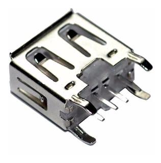 2 Conector Entrada Usb Radio Pionner Original Dhe 4 Garras