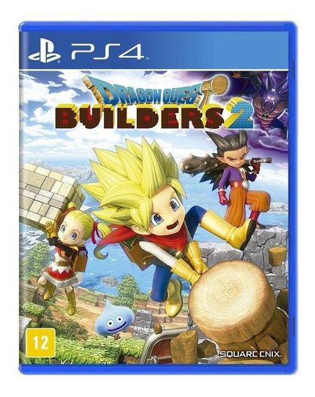 Jogo Dragon Quest Builders 2 Ps4 Novo
