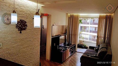 Apartamento Com 2 Dormitórios À Venda, 48 M² Por R$ 320.000,00 - Sacomã - São Paulo/sp - Ap54152