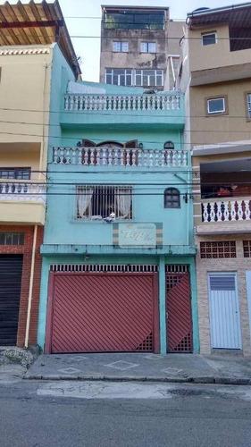 Sobrado Com 3 Dormitórios À Venda, 130 M² Por R$ 400.000,00 - Jardim Cidade Pirituba - São Paulo/sp - So0343