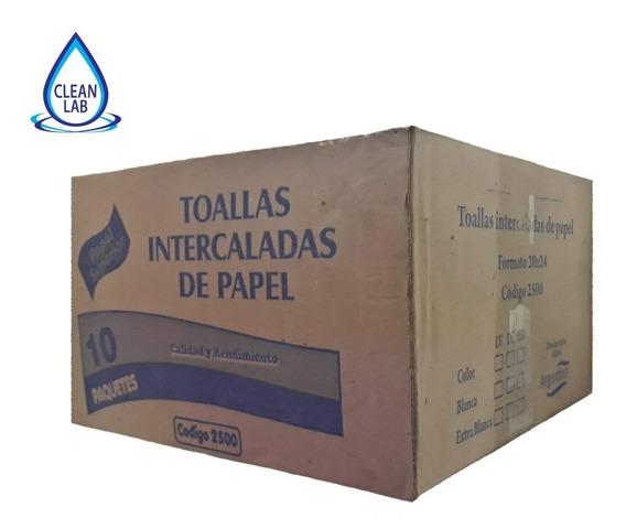 Toallas Papel Blancas Intercaladas Liviana Lverde 20x24 1.9k