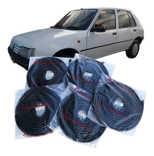 Burletes Para 4 Puertas + Baul Peugeot 205 5 Ptas (kit 5 Unidades) +regalo! Silvaflex