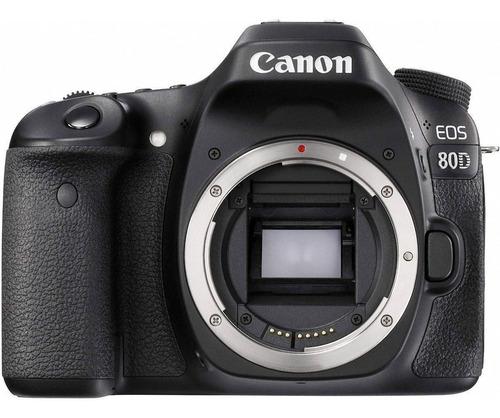 Imagem 1 de 2 de Canon EOS 80D DSLR cor  preto