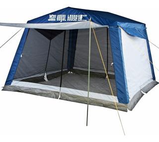 Carpa Comedor Waterdog Camping Royal Pro Con Piso