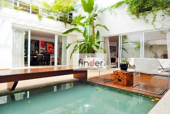 A Arte De Viver! Segurança Total,natureza Abundante, Requinte E Arquitetura Premiada Para Gostos Exigentes No Alto De Pinheiros - Ca0677