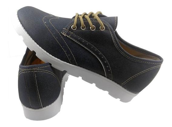Sapato Feminino Oxford Verniz Tratorado