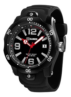 Relógio Masculino Xgames Puls Silicone 100m Xmpp1044-p2px